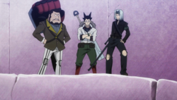Aparecen los cazadores de tesoros anime