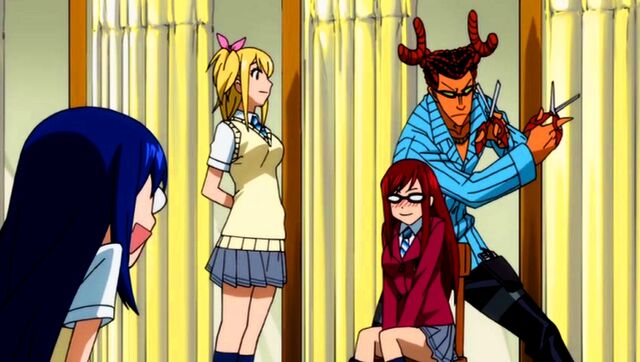 File:Fairy Academy - Cancer called to style Erza's hair.jpg