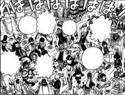 Fairy Tail celebrando