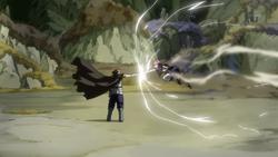 Gildarts detiene a Natsu
