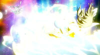 Lucy defeats Angel with Uranometria
