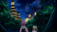 Natsu and Lucy see new Fiore