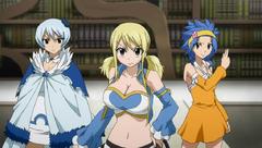 Lucy Levy y Yukino dispuestas a luchar contra Virgo