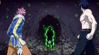 Natsu, Gray, Lucy & Happy vs. Zero