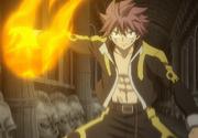 Natsu Llega al Combate