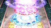 Círculo Mágico de Cinco Camadas: Canção Sagrada