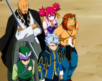 Equipo Lamia Scale Anime