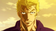 Laxus readies for battle