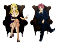 Lucy and Natsu (Fantasia) 01