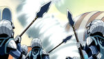 Natsu Dragneel y Wendy Marvell vs. Ejército Real de Edolas