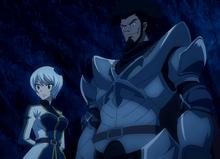 Yukinos Auftretten mit Arcadios