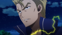 Laxus shows his determination