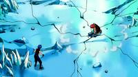Natsu começa a destruir a torre