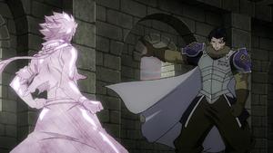 Silver congela Natsu instantaneamente