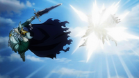 Celestial King destroys Plutogrim