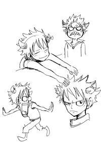 Natsu sketches