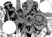 7 de los 9 Miembros de Kyukimon