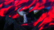 Cobra ataca al dragón de roca