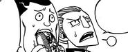 Jet and Droy watching Natsu