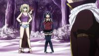 Natsu is found by the girls