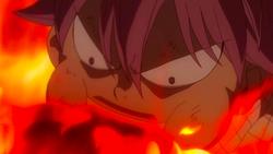 Natsu se come las llamas de Atlas