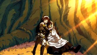 Ultear hugs Zeref