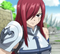 Erza in Alvarez arc