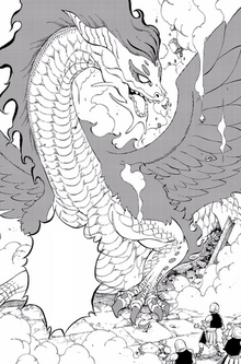Irene forma Dragão