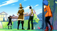 Jet and Droy wanna fight with Gajeel