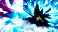 Gray freezes Fukuro's flames