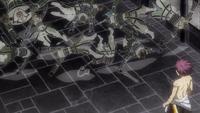 Natsu witnesses Zeref's Magic