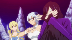 Yukino llama a Deneb para detener el astrolabio