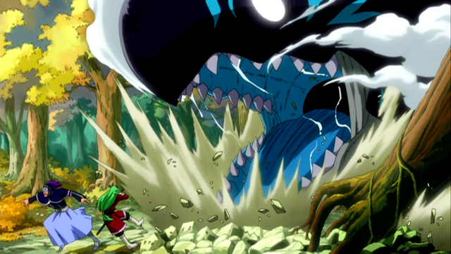 File:Acnologia attacks Freed and Bickslow.PNG