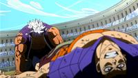 Elfman beats Bacchus