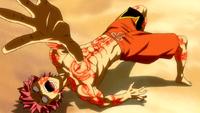 Natsu under Ultear's spell