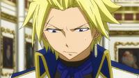 Sting apologizing to Yukino