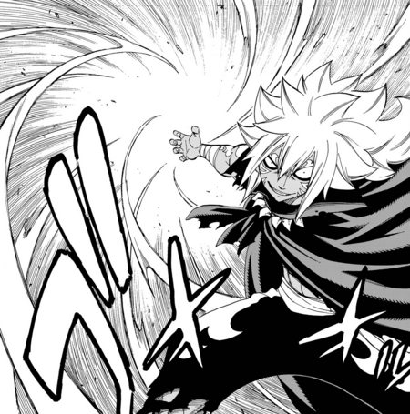 Acnologia targets Wendy