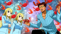 Lucy summons Cancer