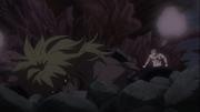 Tempester derrotado por Laxus en el anime