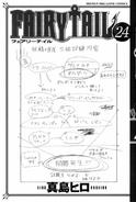 Fairy Tail Band 24 Cover unter Schutzumschlag