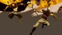Gildarts and Byro go melee