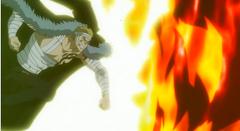 Laxus ataca a Atlas Flame