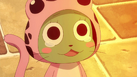 Frosch wants to make its way home