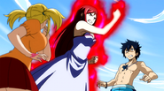 Erza is start the 3 day training from hell