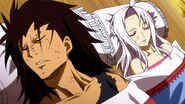 Gajeel and Mira injured
