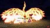 Hell Flame Dragon's Intimidation