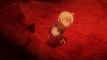 Mavis tries to save Zera