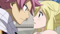Natsu explains about Gray