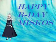 Miskos's B-day art