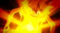 Natsu burns up